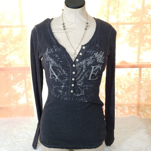 """American Eagle Outfitters Tops - Women's """"American Eagle"""" Long Sleeve Tee"""